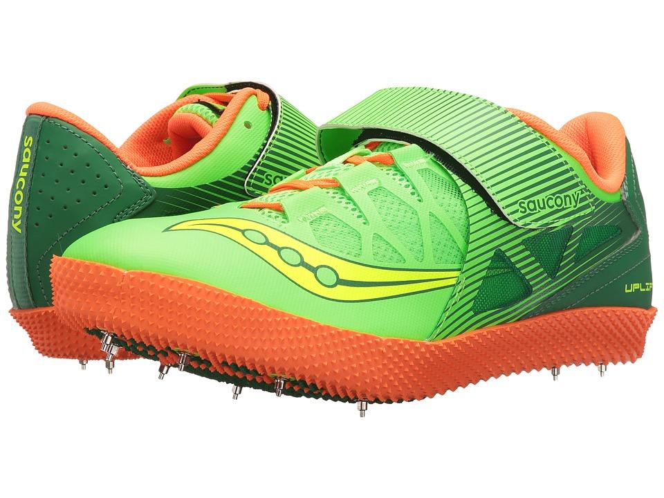 Saucony - Uplift HJ 2 (Citron/Vizi Orange) Men's Shoes