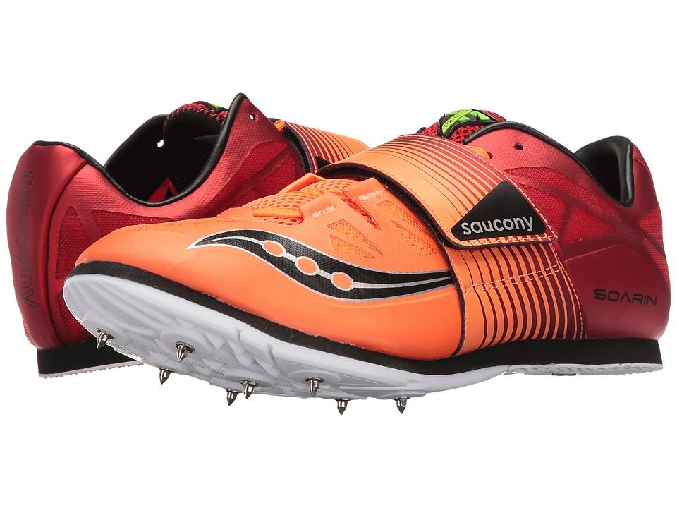 Saucony Soarin J2 (Red/Vizi Orange) Men's Shoes