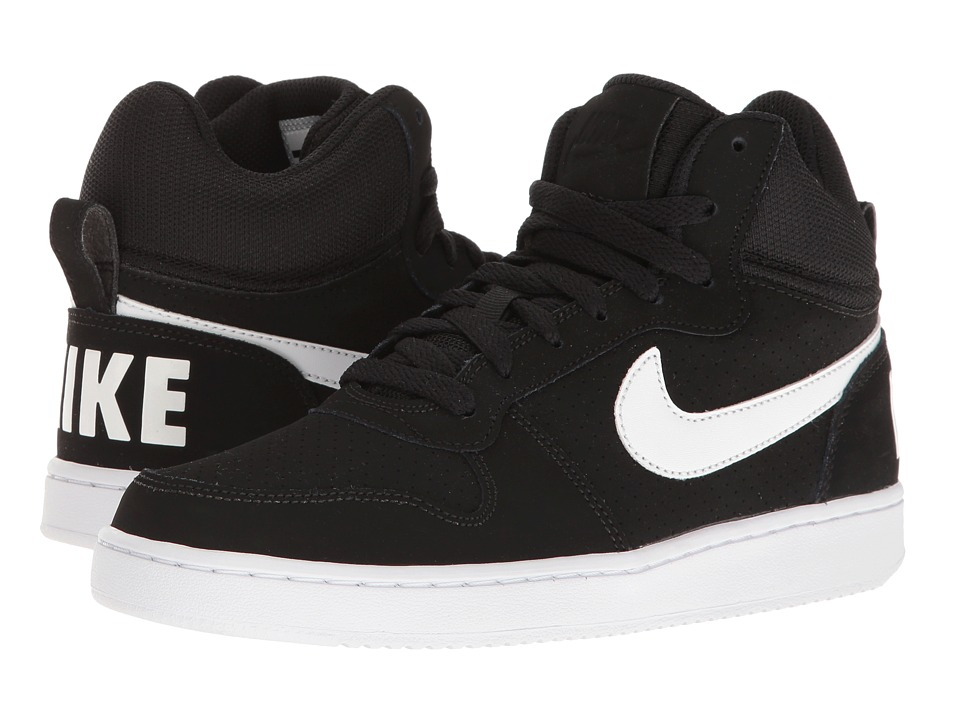 Nike - Recreation Mid (Black/White) Women's Basketball Shoes