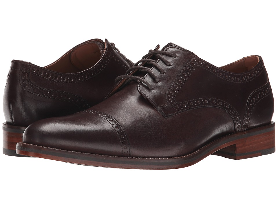 Cole Haan - Madison Grand Cap (Dark Brown) Men's Shoes