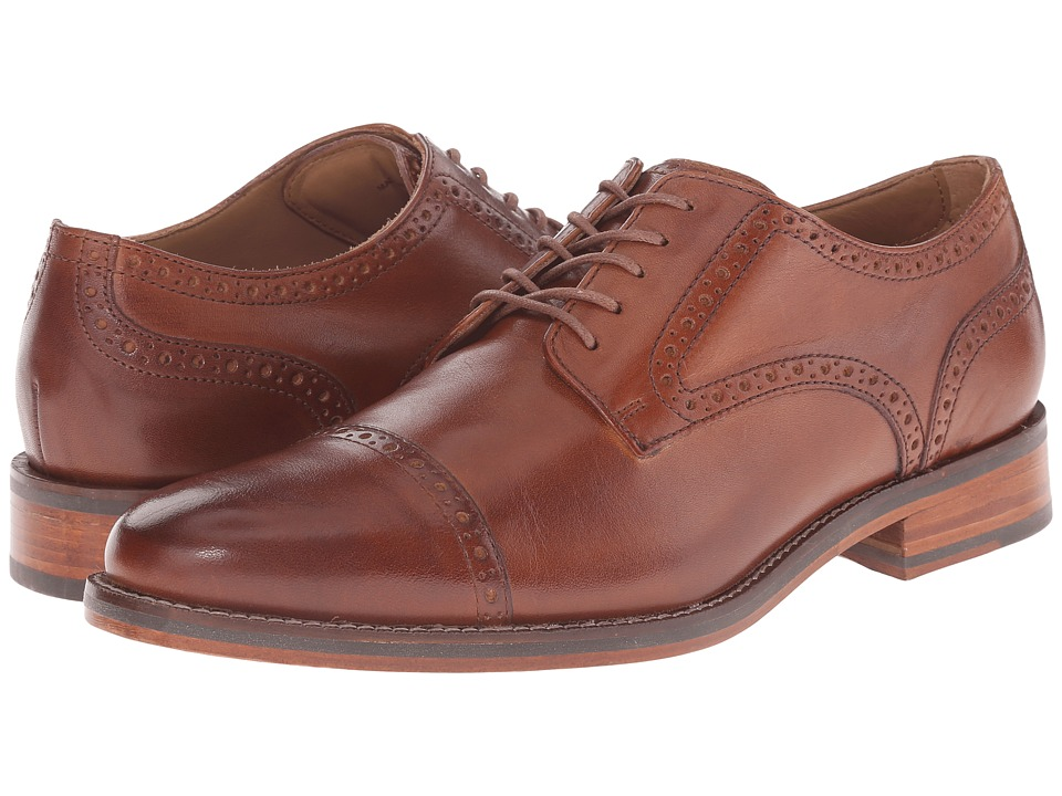 Cole Haan - Madison Grand Cap (British Tan) Men's Shoes