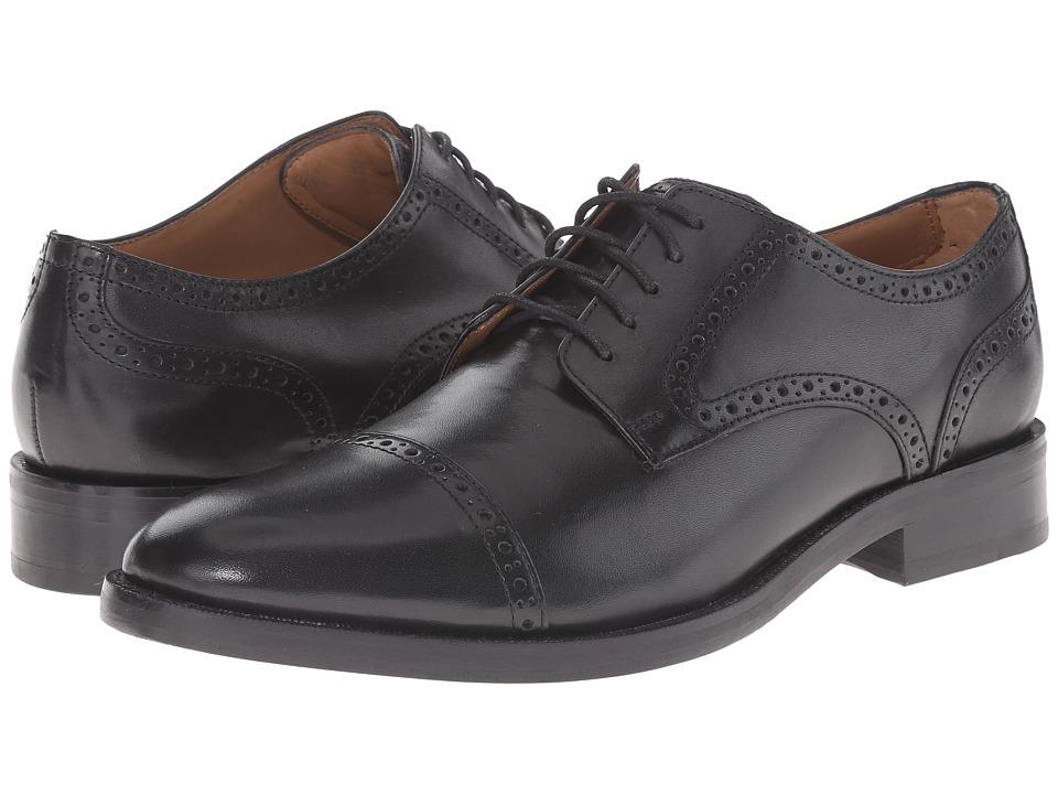 Cole Haan - Madison Grand Cap (Black) Men's Shoes