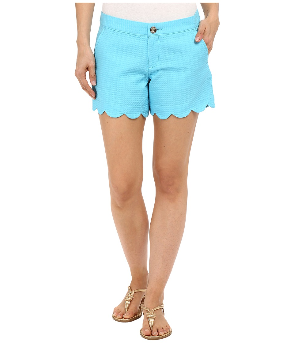 Lilly Pulitzer - Buttercup Shorts (Pool House Blue) Women's Shorts