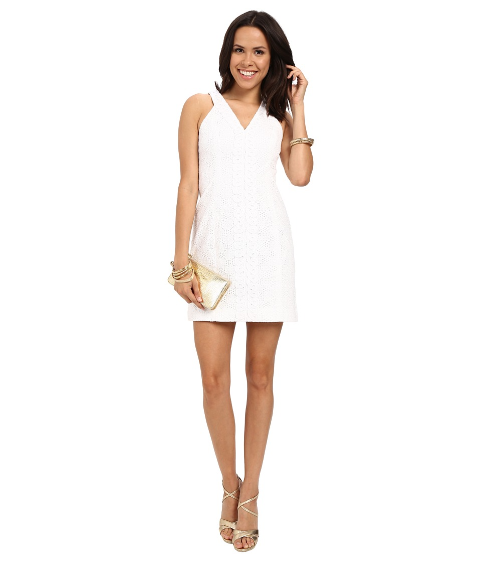 Lilly Pulitzer - Lynn Shift Dress (Resort White Pop The Bubbly) Women's Dress