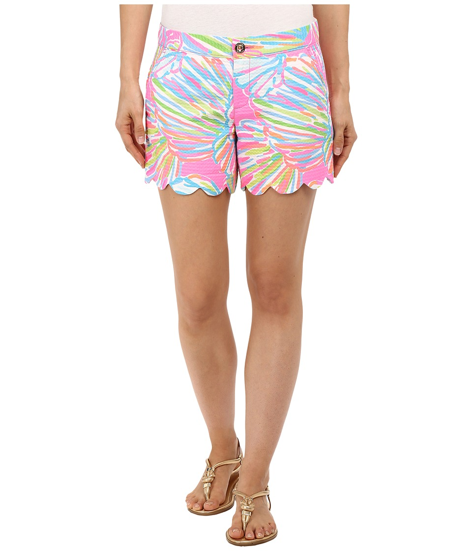 Lilly Pulitzer - Buttercup Shorts (Pink Pout Shellabrate) Women's Shorts