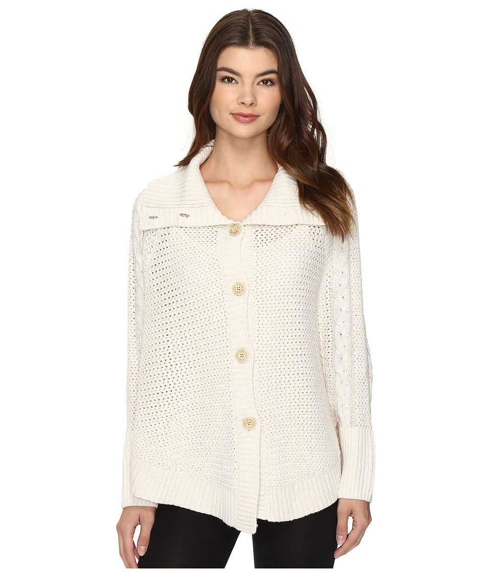 UGG - Maribeth Button Front Cape (Cream Heather) Women's Clothing