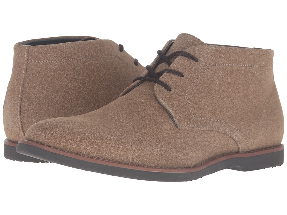 Calvin Klein Farrell (Dark Tan Suede) Men