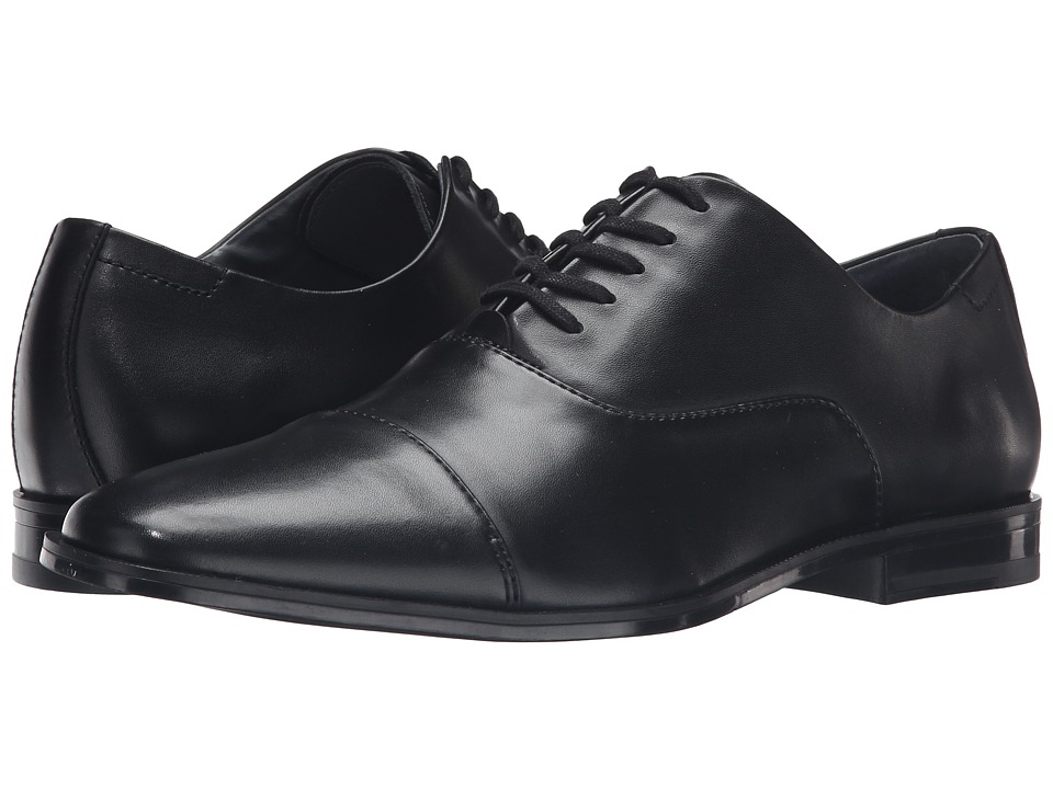 Calvin Klein - Neptune (Black Leather) Men's Shoes