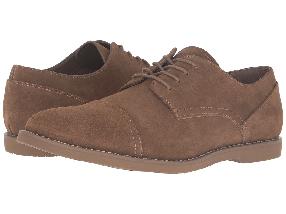 Calvin Klein Finlay (Dark Tan Suede) Men