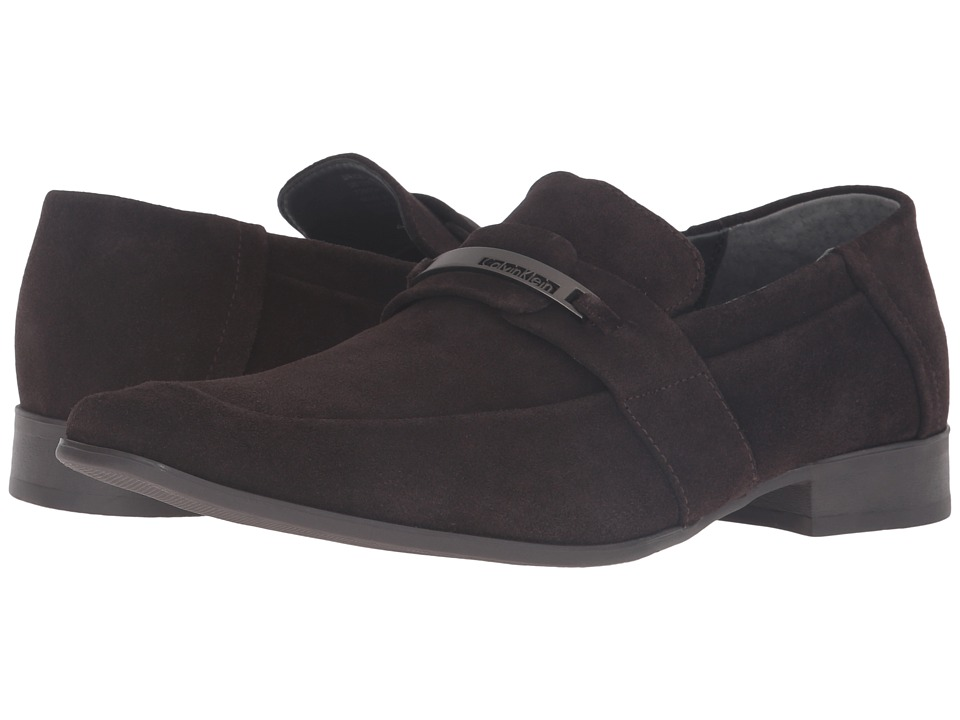 Calvin Klein Brice (Dark Brown Suede) Men