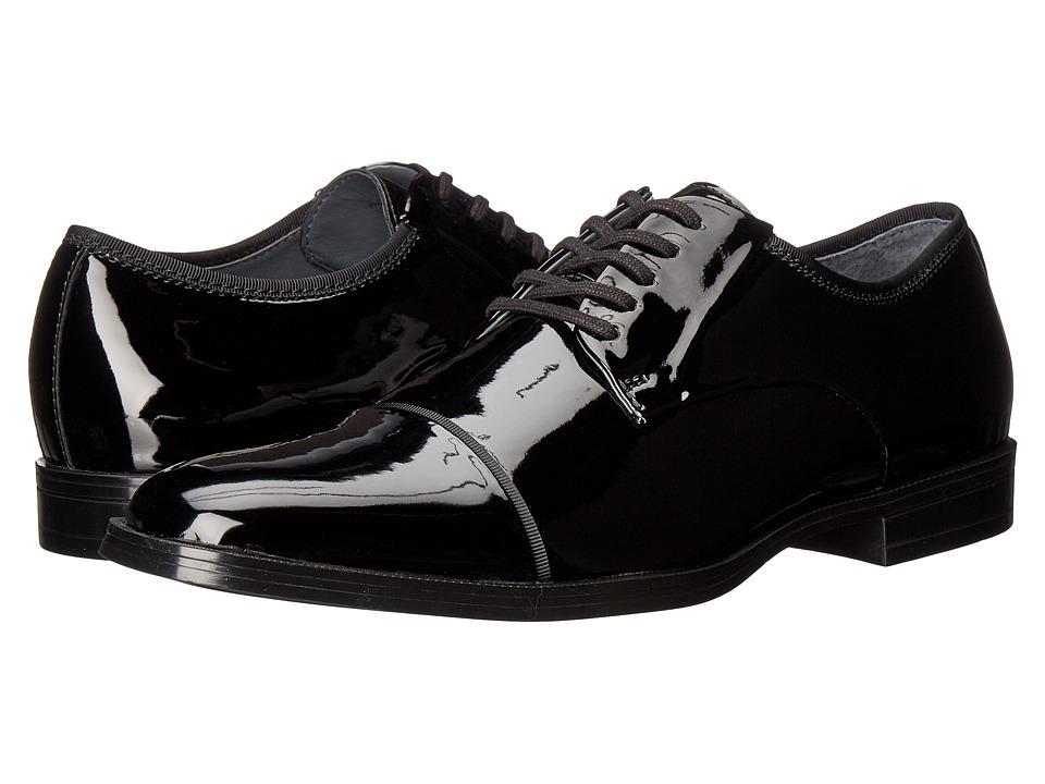 Calvin Klein - Klinton (Black Patent Smooth) Men's Shoes
