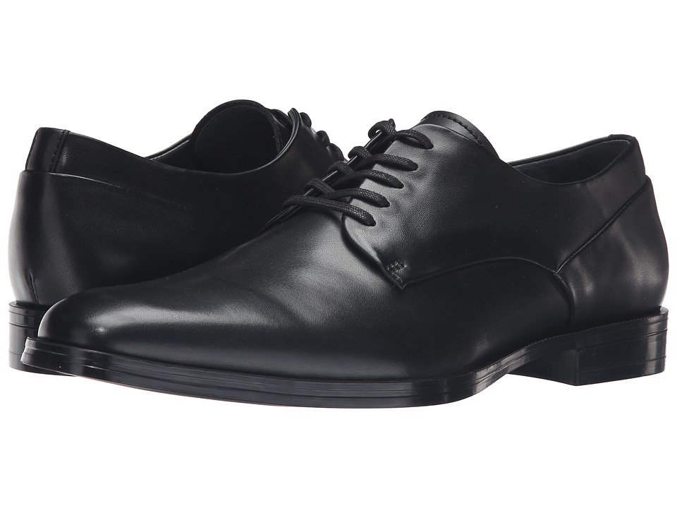 Calvin Klein - Kirbe (Black Leather) Men's Shoes