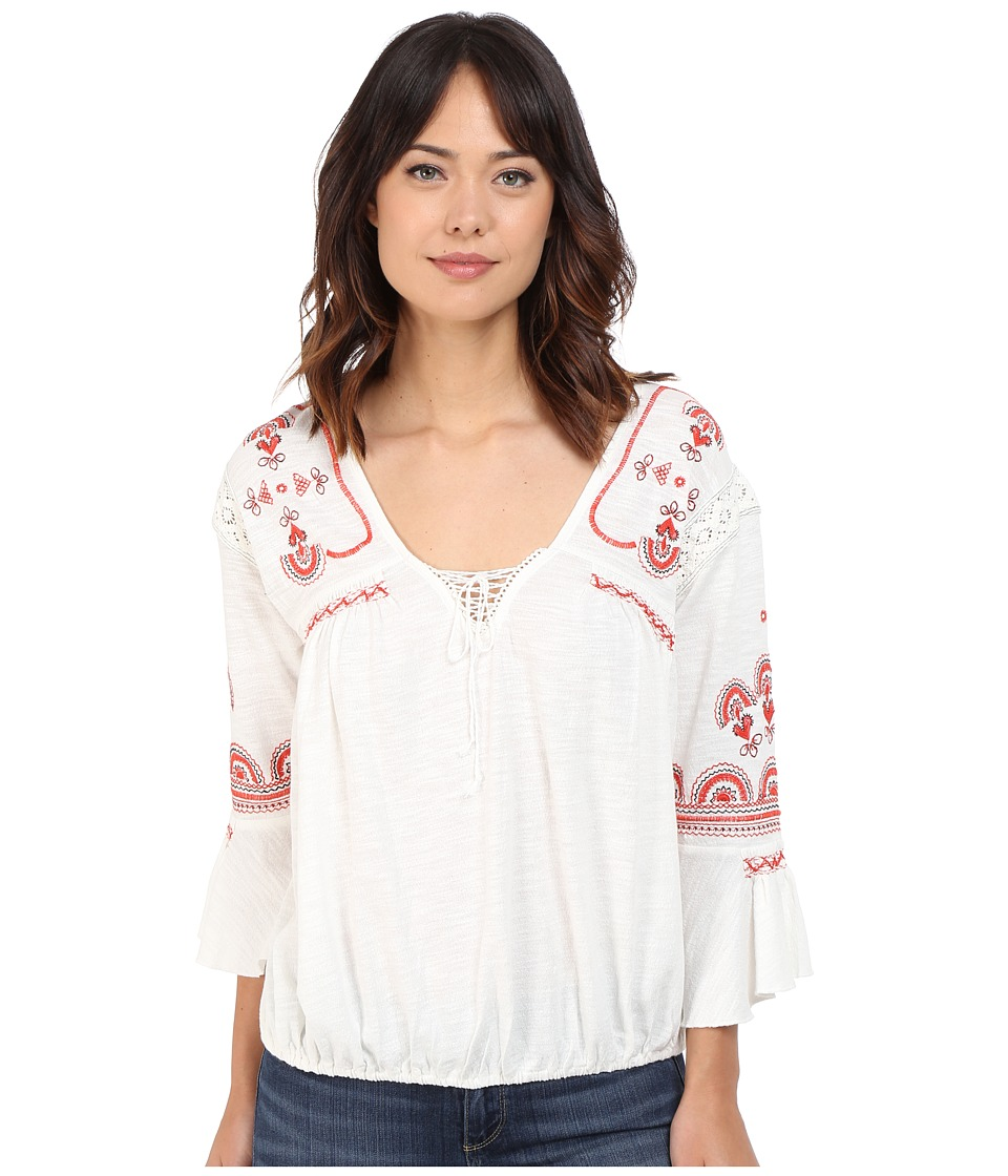 Free People - Chiquita Top (Ivory Combo) Women's Blouse