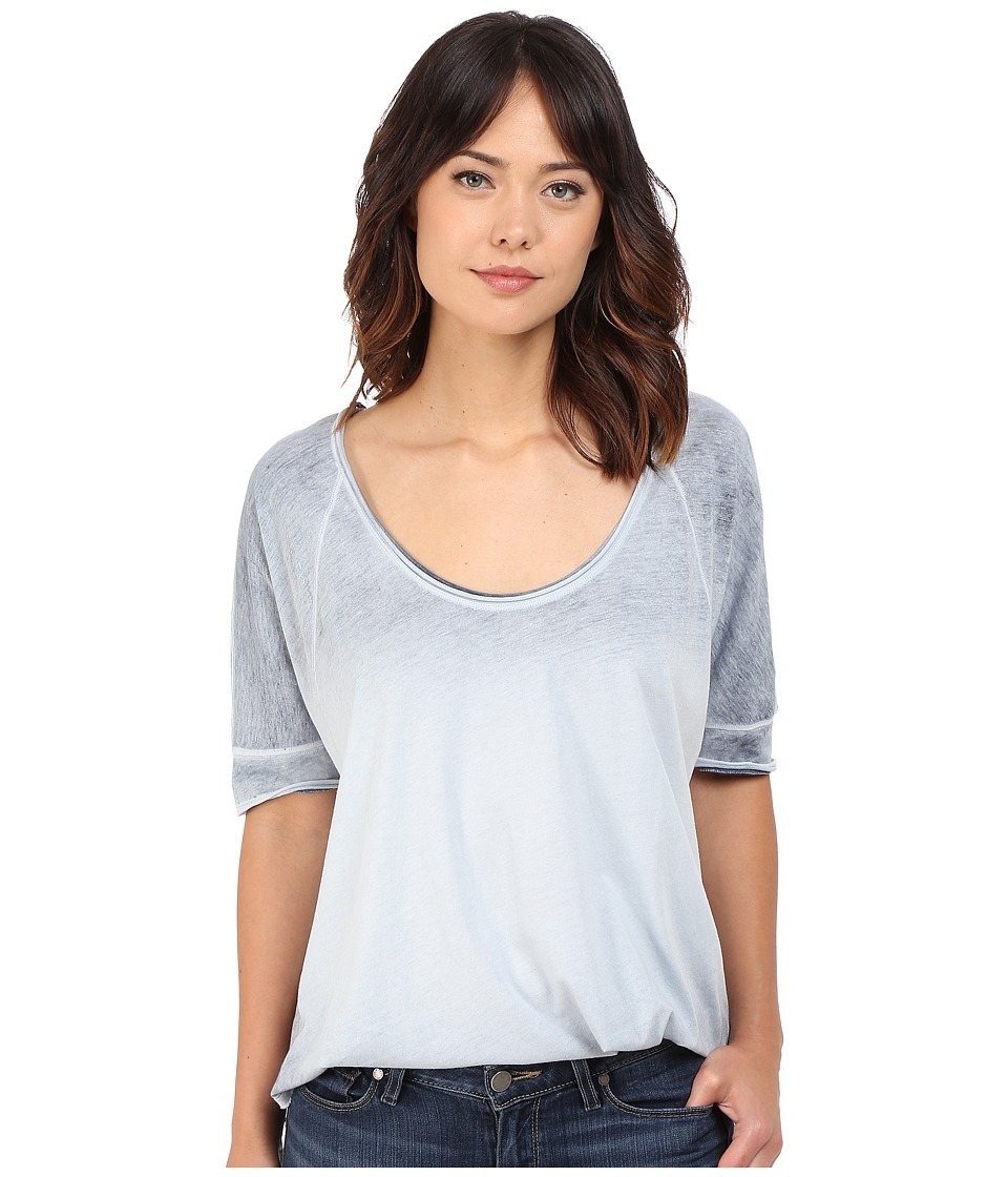 Free People - Saturn Tee (Blue) Women's T Shirt