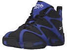 Reebok Kamikaze I Mid (Big Kid) (Blue Print/Black/White)