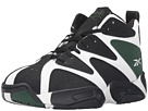 Reebok Kamikaze I Mid (Big Kid) (White/Black/Racing Green)