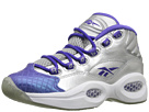 Reebok Question (Big Kid) (Silver Metallic/Ultima Purple)
