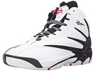 Reebok The Blast (Big Kid) (White/Black/Excellent Red)