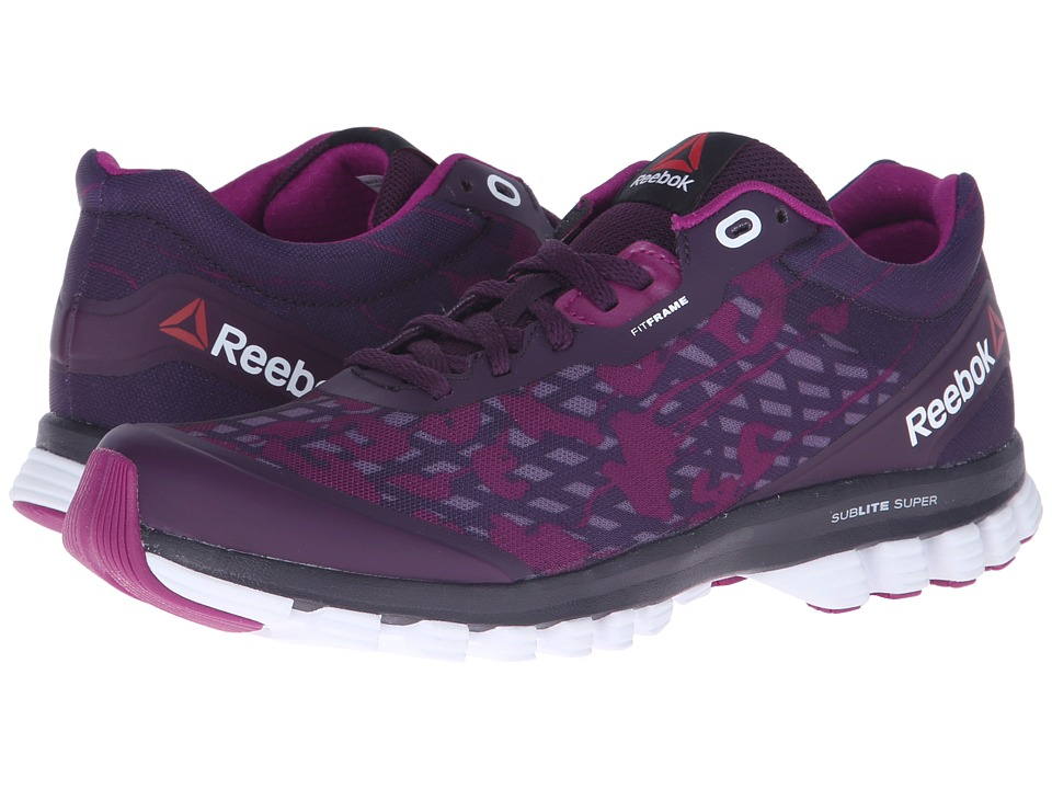 Reebok - Sublite Super Duo Her (Royal Orchid/Fierce Fuchsia) Women's Shoes