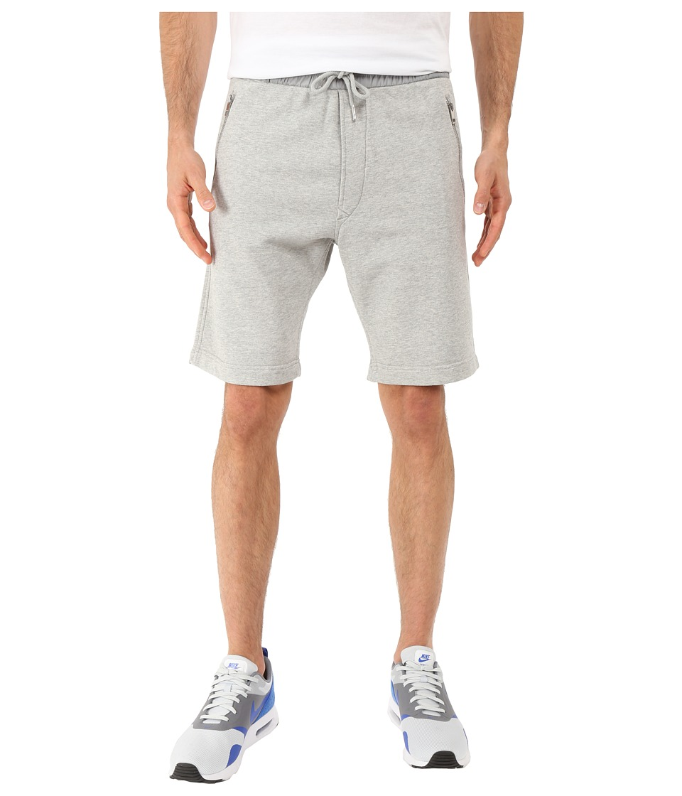 Diesel - P-Matt-2 Shorts (Heather/Grey) Men's Shorts