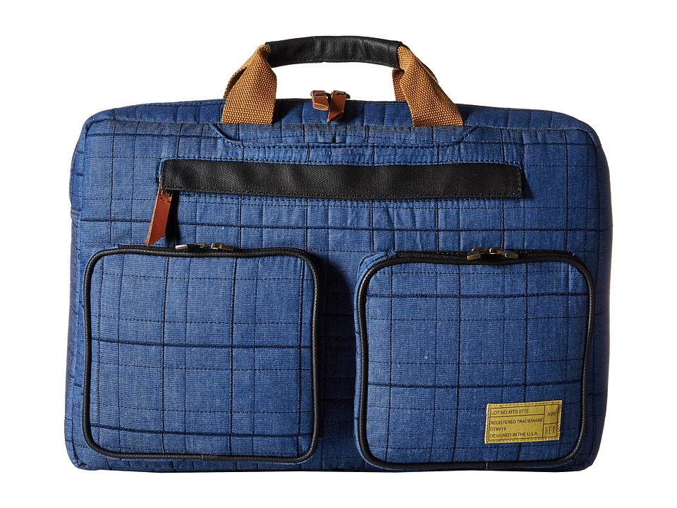 HEX - Convertible Briefcase (Blue) Briefcase Bags