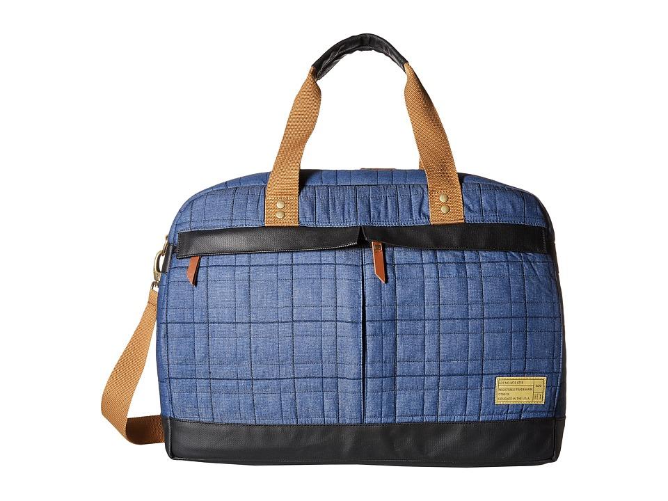 HEX - Overnight Duffel (Blue) Duffel Bags