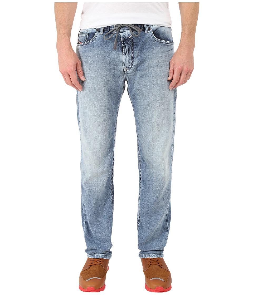 Diesel - Waykee-Ne Sweat Jeans in Denim 0673L (Denim) Men's Jeans