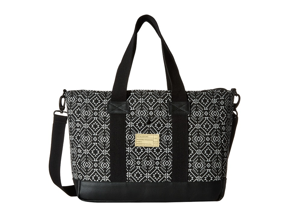 HEX - Work Bag (Black/White) Messenger Bags
