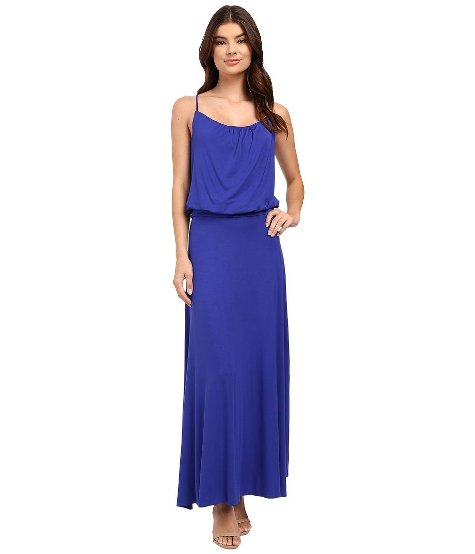 Culture Phit Silvia Spaghetti Strap Maxi Dress (Royal) Women