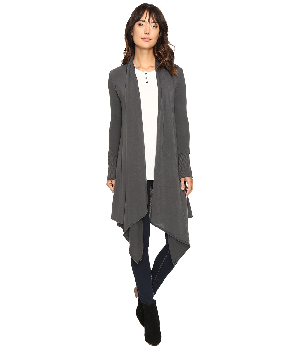 Culture Phit - Carmen Wrap Shawl (Grey) Women's Sweater