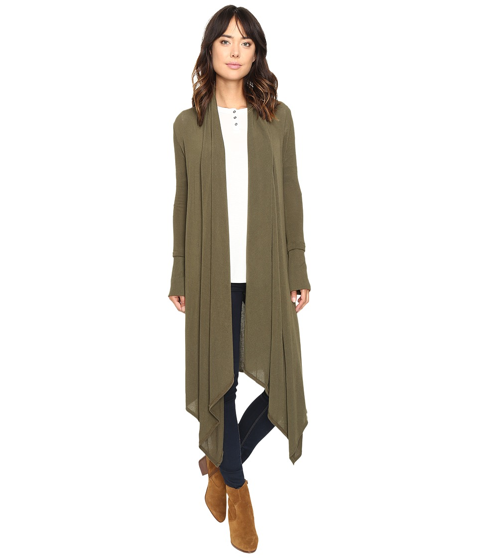Culture Phit - Carmen Wrap Shawl (Olive) Women's Sweater