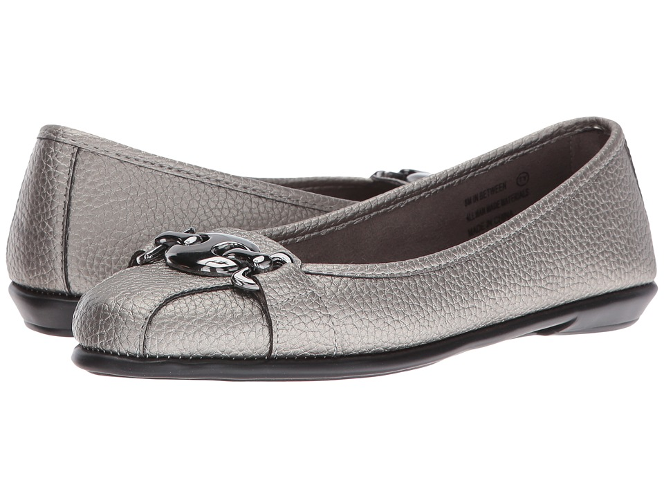 Aerosoles - In Between (Dark Silver Metal) Women's Shoes