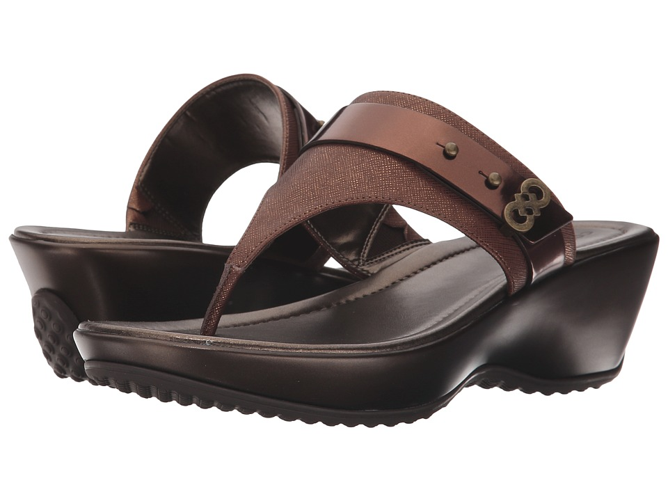 Cole Haan - Margate Wedge II (New Bronze) Women's Wedge Shoes