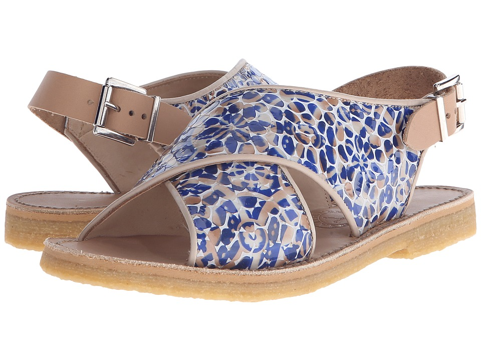 Penelope Chilvers - Max Alhambra (Blue/White) Women's Shoes