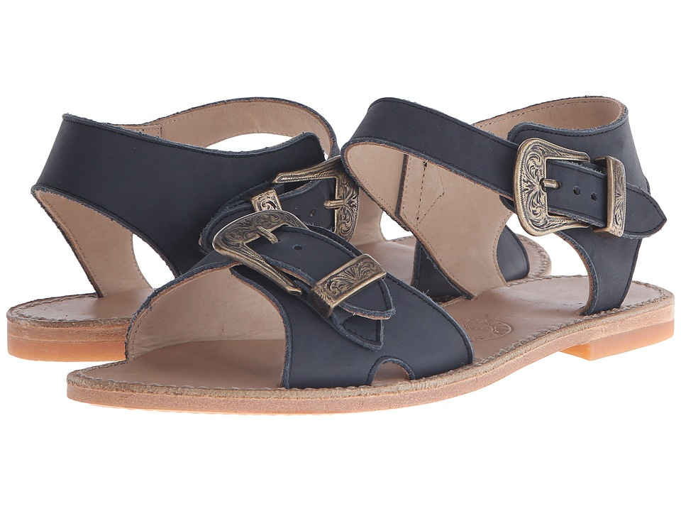 Penelope Chilvers Martha Leather (Navy) Women