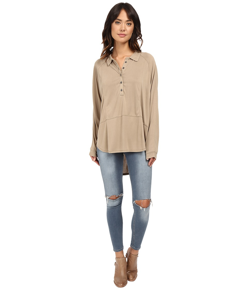 Free People - Rose Shirt (Gold) Women's Clothing