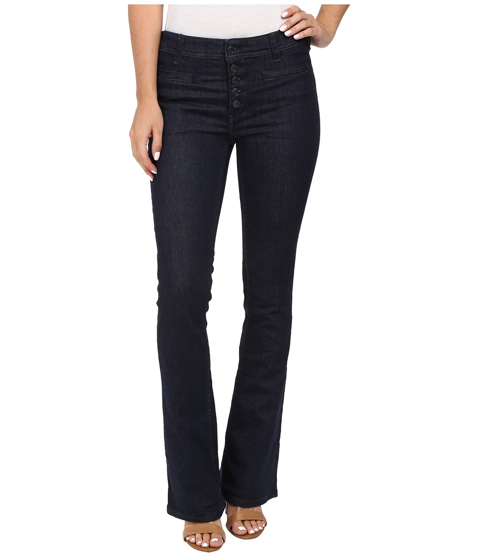 Free People - Slim Flare Trouser Jeans in Denim Blue (Denim Blue) Women's Jeans