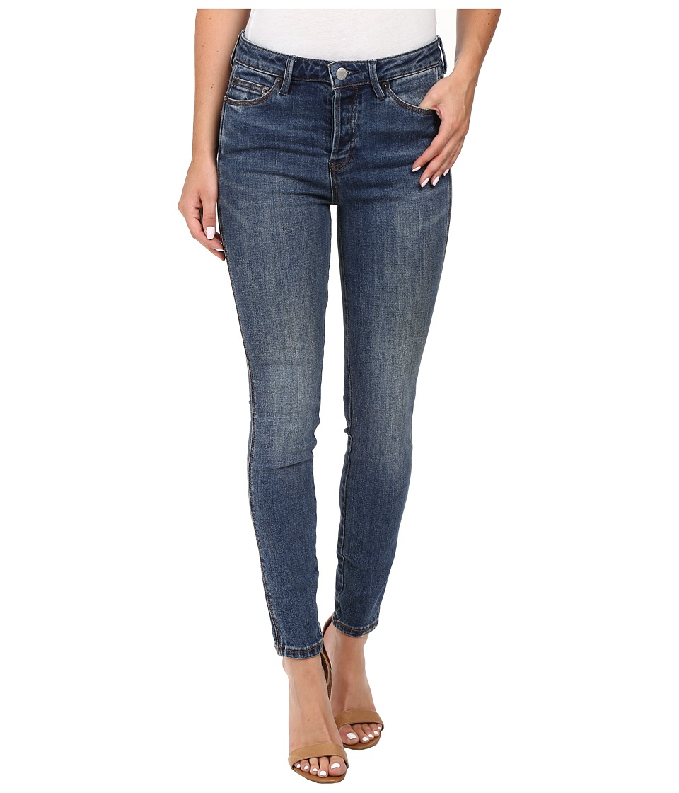 Free People - Payton High Rise Skinny in Denim Blue (Denim Blue) Women's Jeans