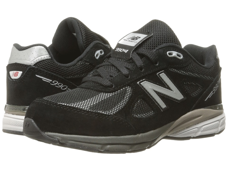 New Balance Kids - KL990 (Little Kid) (Black/Silver) Boys Shoes