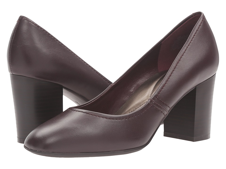 Easy Spirit - Arissa (Wine Leather) Women's Shoes