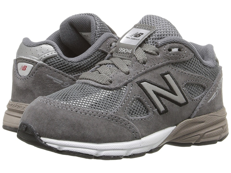 New Balance Kids - KL990 (Infant/Toddler) (Grey/Silver) Boys Shoes