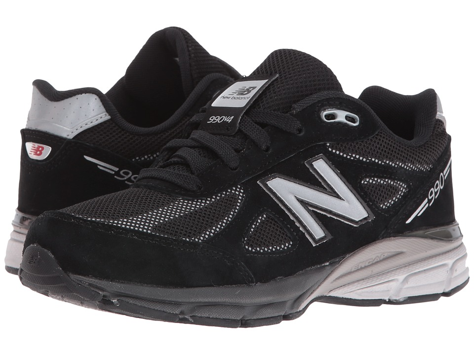 New Balance Kids - KL990 (Infant/Toddler) (Black/Silver) Boys Shoes