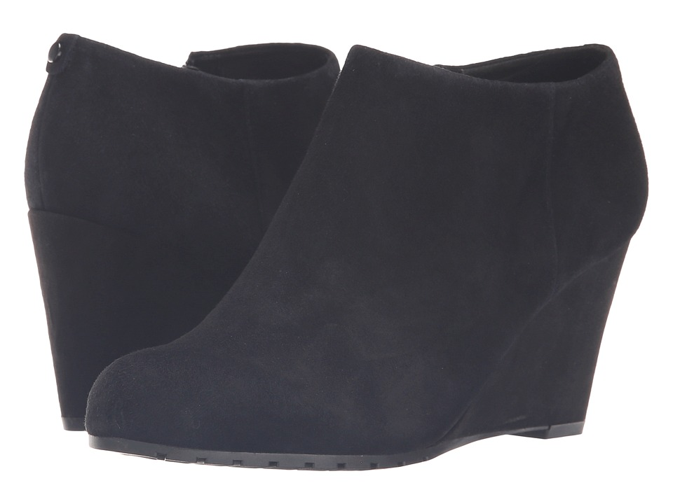 Easy Spirit - Cardea (Black Suede) Women's Shoes
