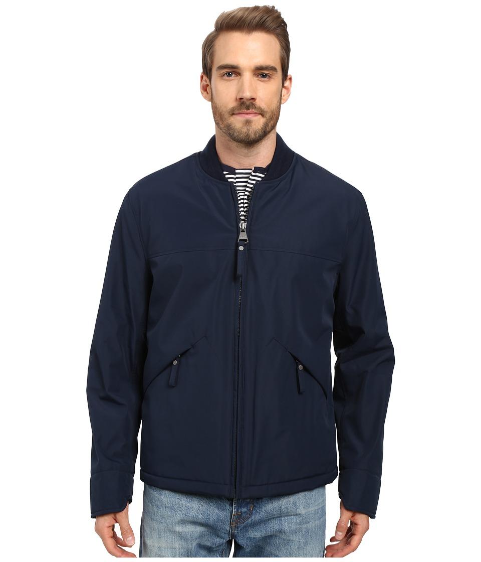 Marc New York by Andrew Marc - Dalton Rain Bomber Jacket (Ink) Men's Coat