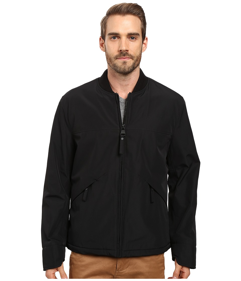Marc New York by Andrew Marc - Dalton Rain Bomber Jacket (Black) Men's Coat