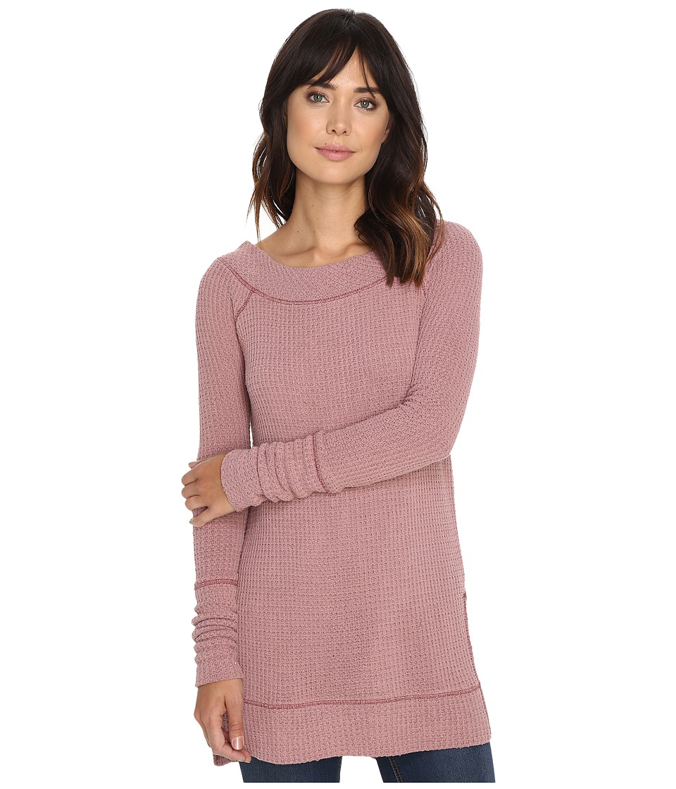 Free People - Kate Thermal (Rose) Women's Clothing
