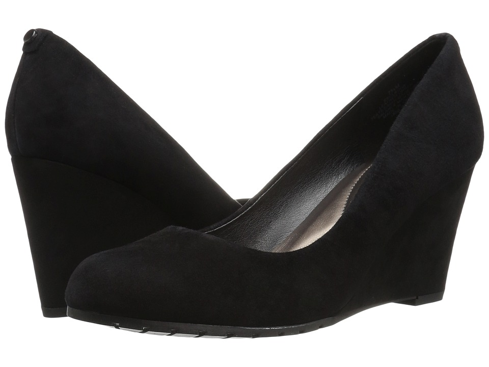 Easy Spirit - Clauda (Black Suede) Women's Shoes