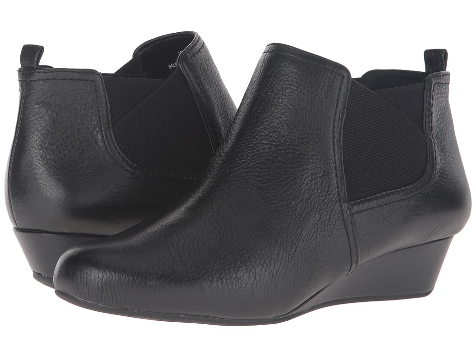Easy Spirit - Dalena (Black/Black Leather) Women's Shoes
