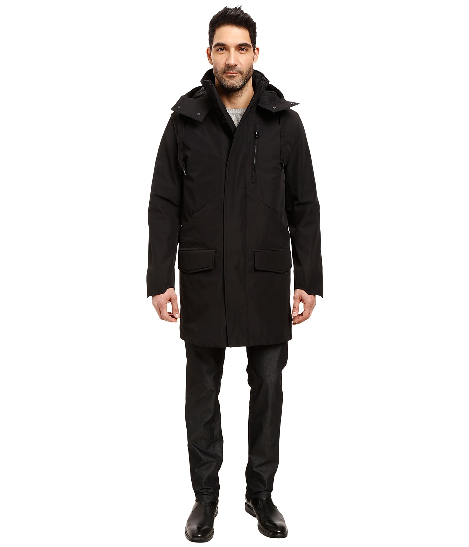 Marc New York by Andrew Marc - Providence Mackintosh 3-in-1 Jacket (Black) Men's Coat