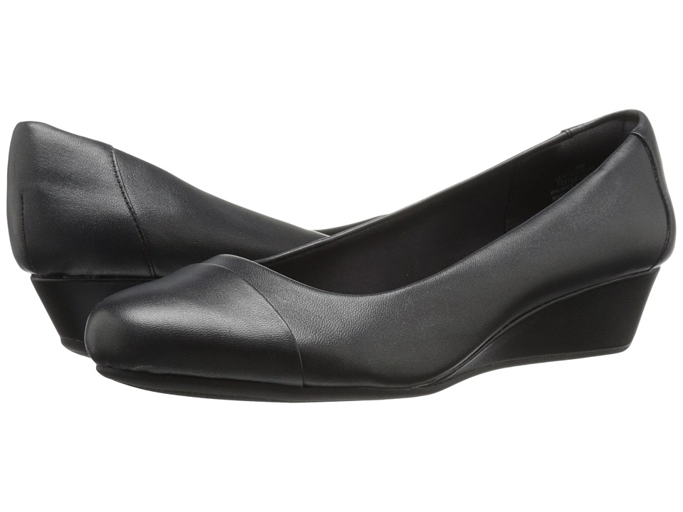 Easy Spirit - Daneri (Black/Black Leather) Women's Shoes